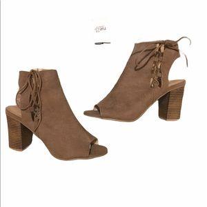 Wild diva open toe shoes